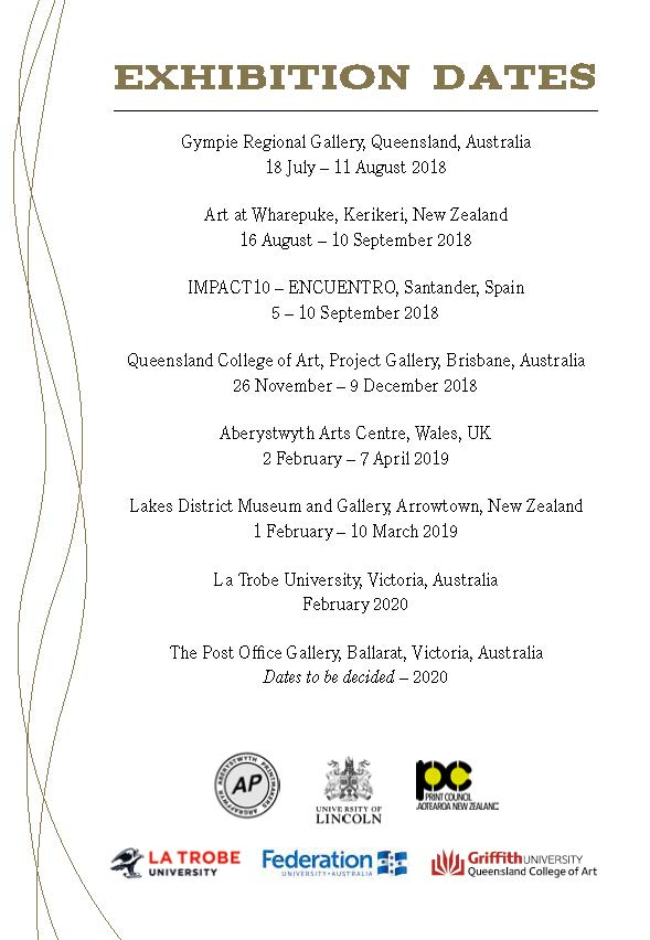 Rivers of Gold exhibition dates